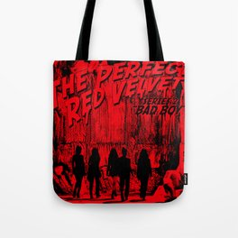 "The Perfect Red Velvet ""Bad Boy"" Tote Bag"