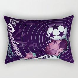 La decima Rectangular Pillow