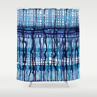 jack frost Shower Curtains featuring Frost by Irina  Mushkar'ova