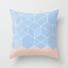 SORBETEBLUE Throw Pillow