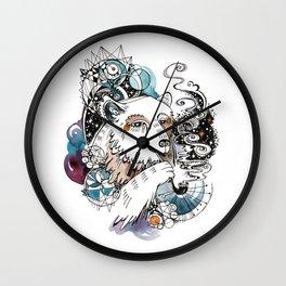 Space Bear Wall Clock