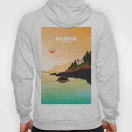 National Parks Poster: Acadia Hoody