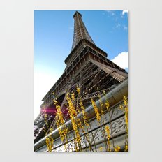 Paris : Spring Tower Canvas Print