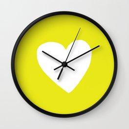 Sunshine Heart Wall Clock