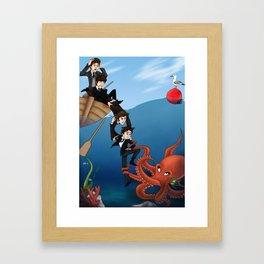 Octopus's Garden Framed Art Print