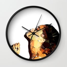 ICONS: Rihanna1 Wall Clock