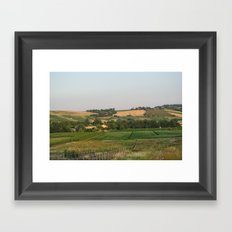 Rimini Countryside III Framed Art Print