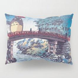 My neighbour Toto vintage japanese mashup Pillow Sham