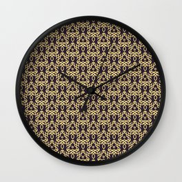 Pattern design background seamless Wall Clock