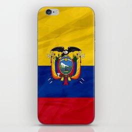 Ecuador - South America flags iPhone Skin