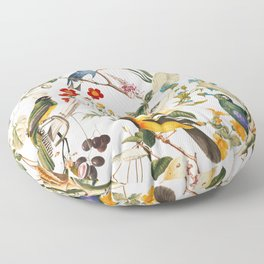 Floral and Birds XXXII Floor Pillow