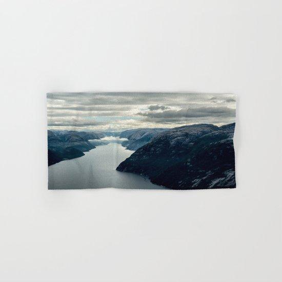 Moody landscape III Hand & Bath Towel