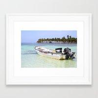 scuba Framed Art Prints featuring Scuba Libre by Dancing Dream