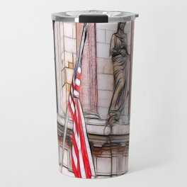 On the Side of the angels Travel Mug