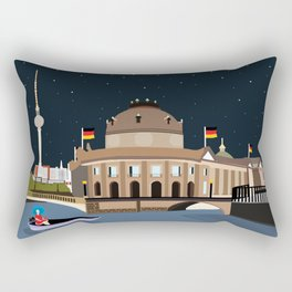 Museum Island Berlin Rectangular Pillow