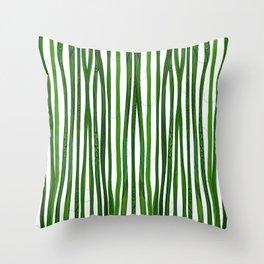 Bamboo Design Throw Pillow