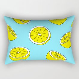 Fresh Lemons Rectangular Pillow