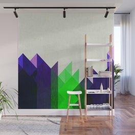 Green Peaks Wall Mural