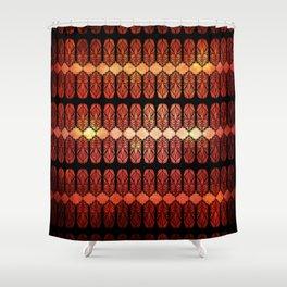 Glass Flames Shower Curtain