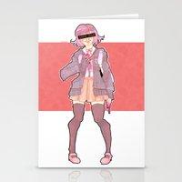 minaj Stationery Cards featuring Chiaki Minaj by milkystars