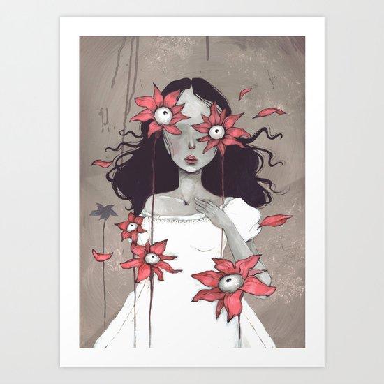 Lilys Art Print