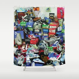 Sneaker Addict. Shower Curtain