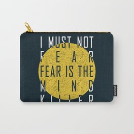 Dune - The Litany Against Fear (WHT) Carry-All Pouch