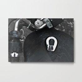 Gasoline Metal Print