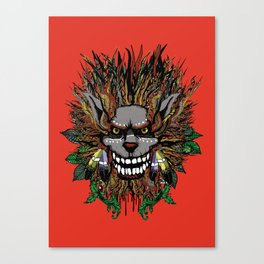 Big Chief Wolfenfreak  Canvas Print