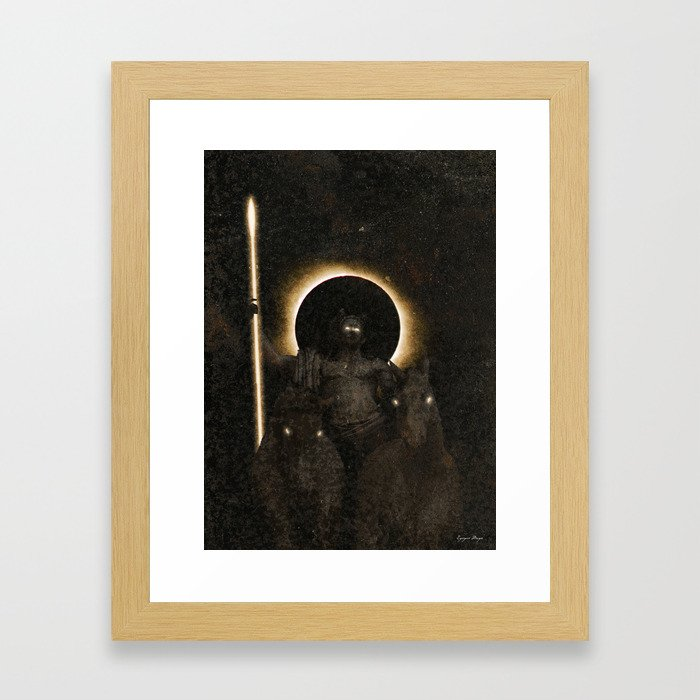 Apollo Framed Art Print