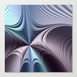 Warping towards a black hole Canvas Print