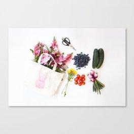 Shop local Canvas Print