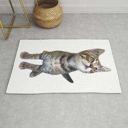 Tabby Kitten Rug
