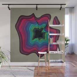 Infinite Wormhole Wall Mural