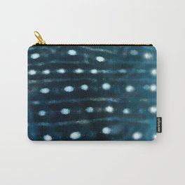 Whale skin Carry-All Pouch