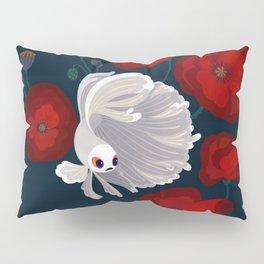 Bettas and Poppies Pillow Sham
