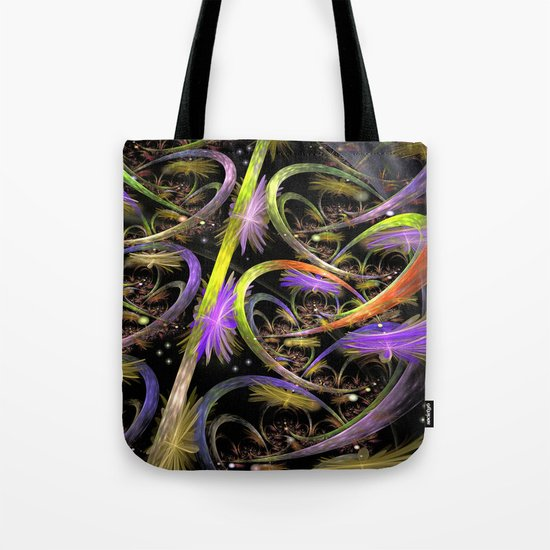 Chaos in Universe Tote Bag
