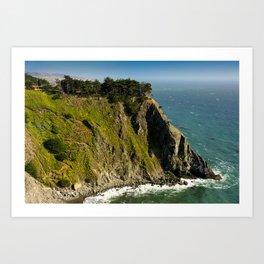 Ragged Point, Cabrillo Hwy, California Coastline Art Print