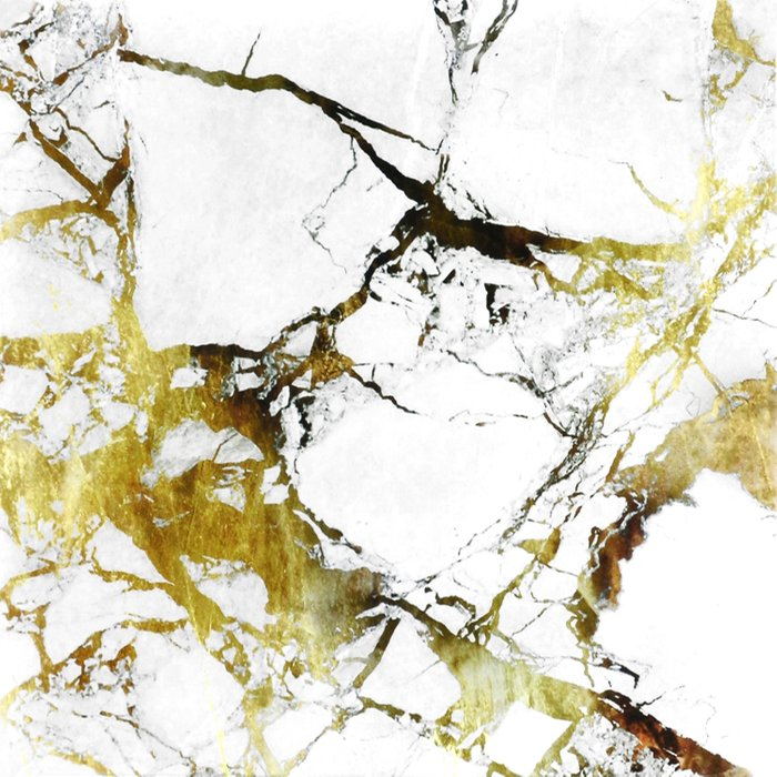Gold-White Marble Impress Comforters