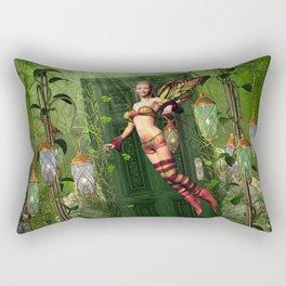 The Way To Fairyland Rectangular Pillow