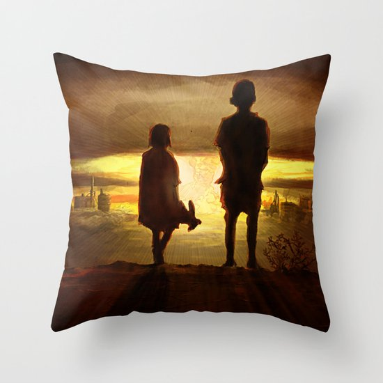 Maybe Throw Pillow