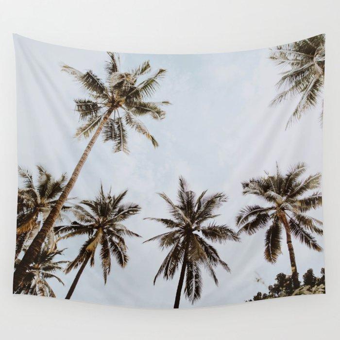 palm trees xiv / chiang mai, thailand Wall Tapestry