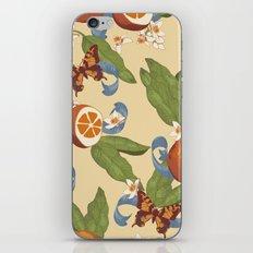Botanical Oranges iPhone Skin