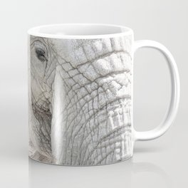 Elephant Minimalism Coffee Mug