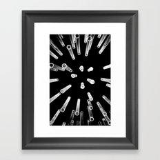 Lights (3) Framed Art Print