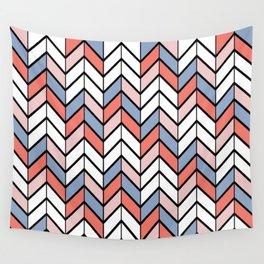 Summer Chevron Wall Tapestry