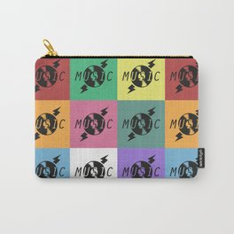 Vinyl Music Carry-All Pouch