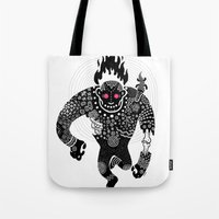run Tote Bags featuring RUN by Heiko Windisch