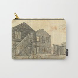 Ghost Town Bodie California Carry-All Pouch