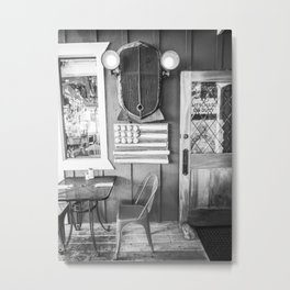 Vintage Bar Metal Print